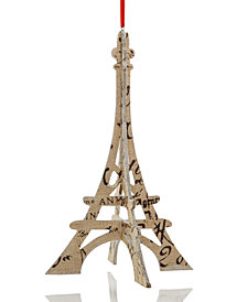 Holiday Lane Paper Eiffel Tower Ornament, Created for Macy's