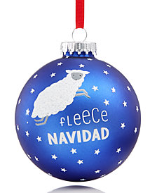 Holiday Lane 2018 Fleece Navidad Ornament, Created for Macy's
