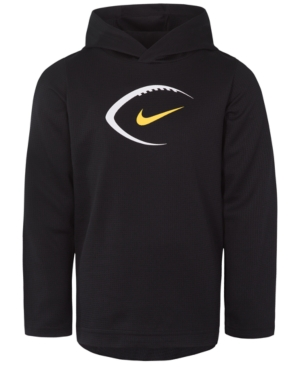Nike Toddler Boys Dri-fit Football Graphic-Print Hooded Sweatshirt