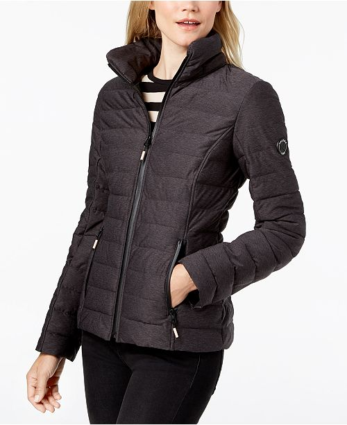 f6fb84f2 Nautica Hooded Contrast-Trim Packable Puffer Coat & Reviews ...
