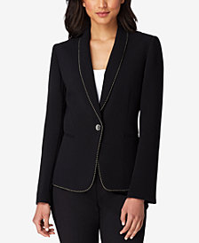 Tahari ASL One-Button Blazer