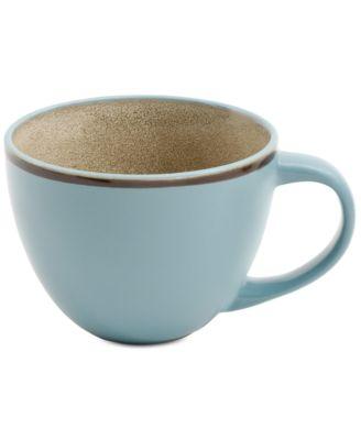 Elite Reactive Glaze Turquoise Mug