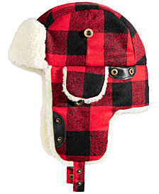 Woolrich Men's Buffalo Plaid Trooper Hat