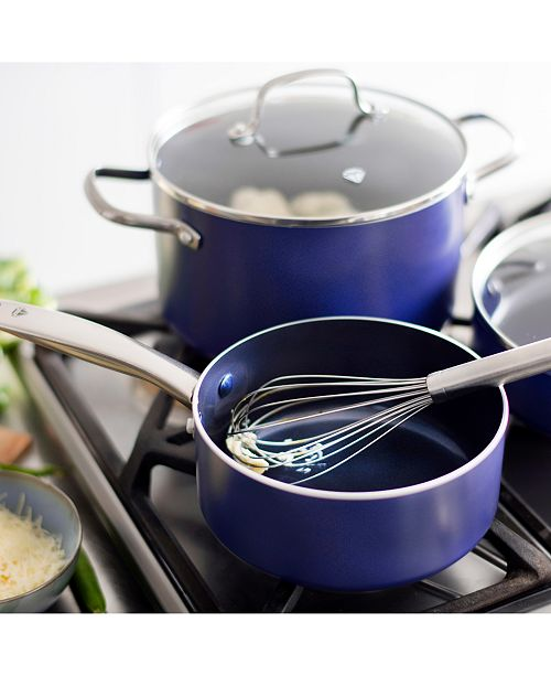 Blue Diamond As Seen On Tv 10 Pc Cookware Set Cookware