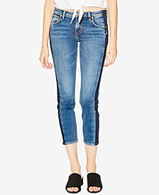 Silver Jeans Co. Vintage Mid Rise Slim Ankle Jeans