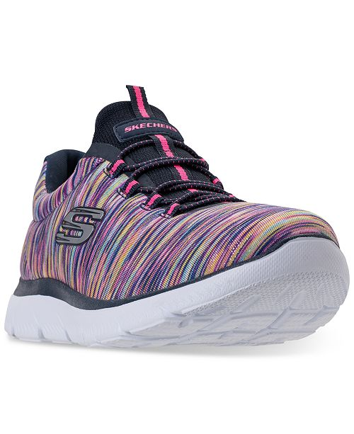 ff2ca0f5 ... Skechers Women's Summits - Light Dreaming Wide Width Athletic Sneakers  from Finish ...