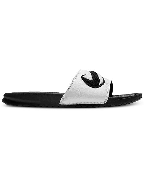 8f786f28f7679d Nike Men s Benassi JDI Chenille Slide Sandals from Finish Line ...
