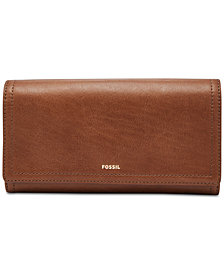 Fossil Logan Flap Clutch Wallet