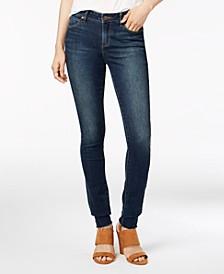 Mya Raw-Hem Skinny Jeans