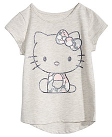 Hello Kitty Little Girls High-Low Hem T-Shirt