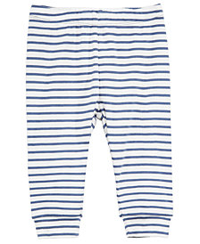 First Impressions Baby Boys Striped Cotton Jogger Pants, Created for Macy's