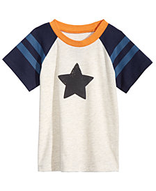First Impressions Toddler Boys Star Graphic T-Shirt, Created for Macy's
