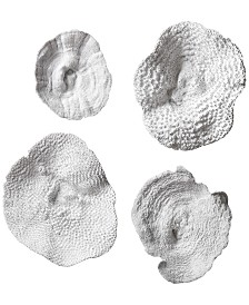 Uttermost Sea Coral Wall Art, Set of 4