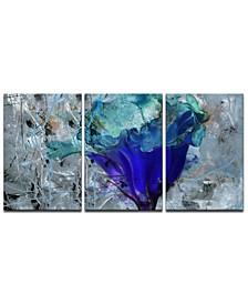 'Painted Petals LX' Canvas Wall Decor Set