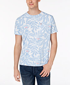 Tommy Hilfiger Men's Printed Leaf T-Shirt, Created for Macy's