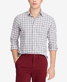 Polo Ralph Lauren Men's Classic Fit Plaid Cotton Shirt