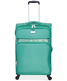 "Jessica Simpson Originals 29"" Softside Expandable Spinner Suitcase"