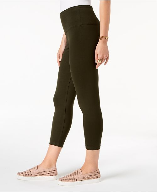 8b99da5304bf Style   Co Petite Cropped Yoga Leggings