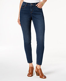 Style & Co Curvy Tummy-Control Skinny Jeans, Created for Macy's