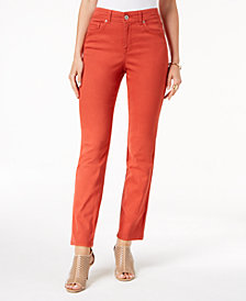 Style & Co Tummy-Control Straight-Leg Jeans, Created for Macy's