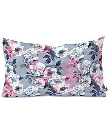 Deny Designs Emanuela Carratoni Vintage Floral Theme Oblong Throw Pillow