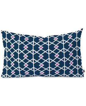 Deny Designs Heather Dutton Annika Diamond Orchid Oblong Throw Pillow 6594132