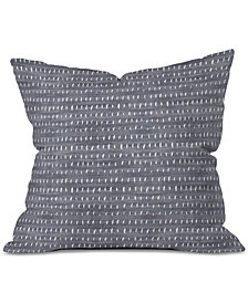 Deny Designs Holli Zollinger Bogo Denim Rain Light Throw Pillow