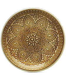 Jay Imports American Atelier Divine Gold Charger Plate