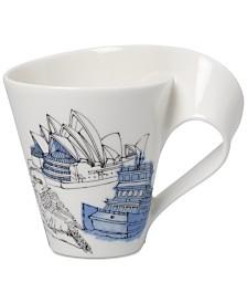 Villeroy & Boch Dinnerware, New Wave Caffé Cities of the World Mug