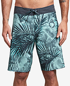 "Volcom Men's Toner Mod 20"" Printed Board Shorts"