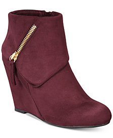 ZIGIny Women's Ksenia Wedge Booties