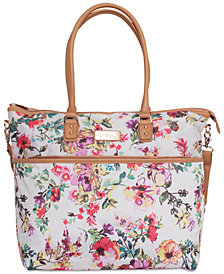 Jessica Simpson French Floral Tote