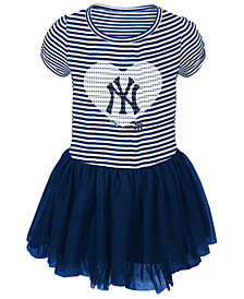 Outerstuff New York Yankees Celebration Tutu Dress, Toddler Girls (2T-4T)