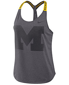 Nike Women's Michigan Wolverines Elastika Tank