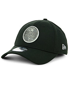 New Era Chicago White Sox Circle Reflect 39THIRTY Stretch Fitted Cap