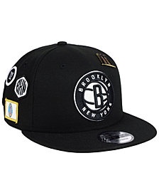 New Era Brooklyn Nets On-Court Collection 9FIFTY Snapback Cap