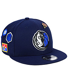 New Era Dallas Mavericks On-Court Collection 9FIFTY Snapback Cap