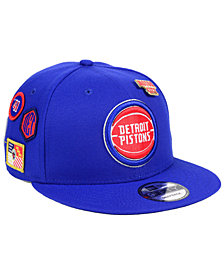 New Era Detroit Pistons On-Court Collection 9FIFTY Snapback Cap