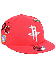 New Era Houston Rockets On-Court Collection 9FIFTY Snapback Cap