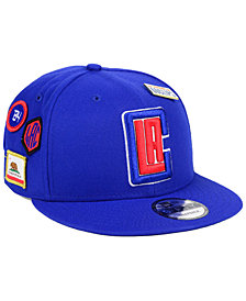 New Era Los Angeles Clippers On-Court Collection 9FIFTY Snapback Cap