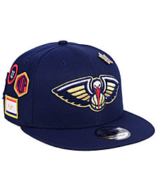 New Era New Orleans Pelicans On-Court Collection 9FIFTY Snapback Cap