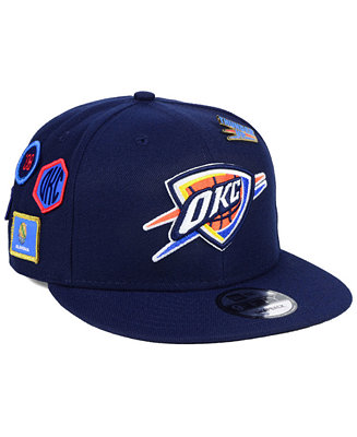 dd71023c5f3 New Era Oklahoma City Thunder On-Court Collection 9FIFTY Snapback Cap -  Sports Fan Shop By Lids - Men - Macy s