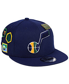 New Era Utah Jazz On-Court Collection 9FIFTY Snapback Cap