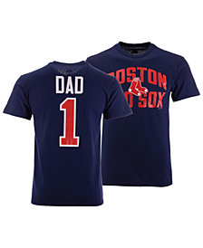 Majestic Men's Boston Red Sox Team Dad T-Shirt