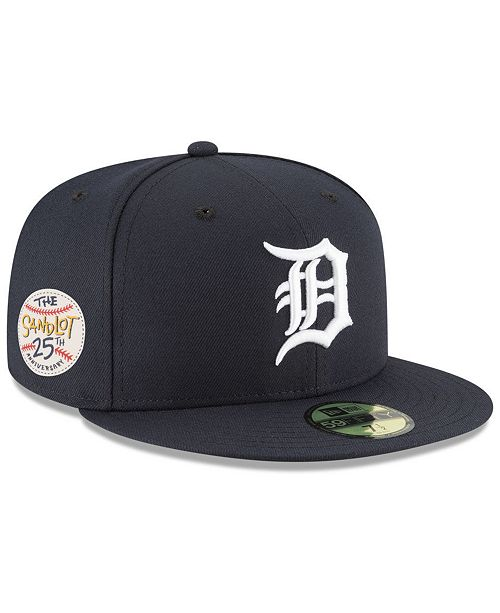 super popular 3e1d7 5dd4c New Era. Detroit Tigers Sandlot Patch 59Fifty Fitted Cap. Be the first to  Write a Review. main image  main image ...