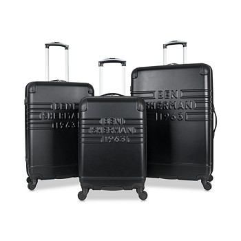Ben Sherman Ripon 3-Pc. Hardside Wheeled Luggage Set