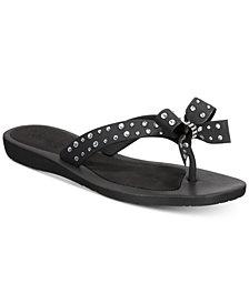 GUESS Tutu Bow Flip-Flop Sandals