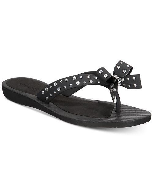 e6d9c18545c48e GUESS Tutu Bow Flip-Flop Sandals   Reviews - Sandals   Flip Flops ...