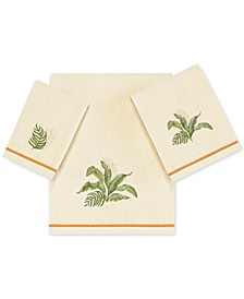 Tommy Bahama Palmiers Cotton Embroidered Towel Collection