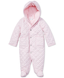 Ralph Lauren Baby Girls 9M Quilted Barn Bunting